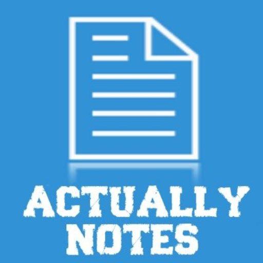 Actually Notes Magazine