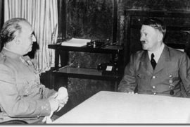 Franco and Hitler before starting the meeting Hitler Ejemplos de Hitler I'm not going to bother fighting any giant alien dinosaurs or zombie Hitlers so I can topple Mr. X's fascist regime. 29 ejemplos más