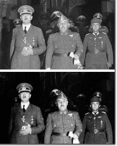Hitler ando Franco. the whole history. Hendaya