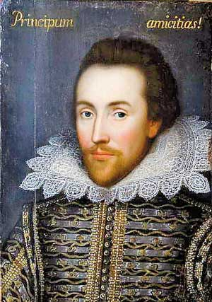 William Shakespeare, his true portrait