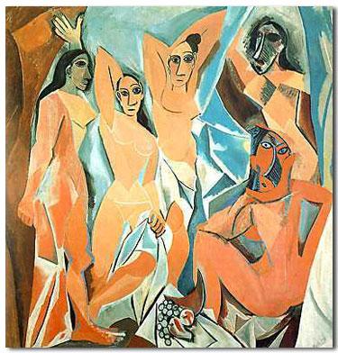 Picasso, The Ladies of Avignon